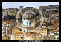 Caltanissetta. Foto aeree del centro storico di Caltanissetta. Cupola della Cattedrale Santa Maria la Nova in piazza Garibaldi. Photo Walter Lo Cascio www.walterlocascio.it  - Caltanissetta (6961 clic)