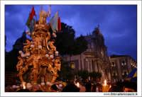 Catania. Festa di Sant'Agata, 2006. La Candelora in processione.   - Catania (2180 clic)