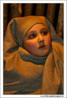 Agira. Natale 2005. Il presepe vivente ad Agira, organizzato dall'Associaizone AMICI DEL PRESEPE. Bambino.   - Agira (1563 clic)