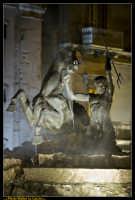 Caltanissetta. Piazza Garibaldi dopo i lavori di rifacimento della pavimentazione.Particolare della Fontana del Tritone. Photo Walter Lo Cascio www.walterlocascio.it  - Caltanissetta (4629 clic)