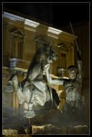 Caltanissetta. Piazza Garibaldi dopo i lavori di rifacimento della pavimentazione.Particolare della Fontana del Tritone. Photo Walter Lo Cascio www.walterlocascio.it  - Caltanissetta (4416 clic)