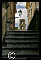 Palermo. Il campanile della Martorana, visto dalle scale laterali della chisa di Santa Caterina. PAL