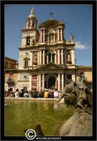 Caltanissetta. Chiesa San Sebastiano con Fontana del Tritone.  - Caltanissetta (2556 clic)