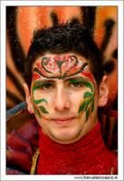 Agira. Carnevale di Agira. Edizione 2006 Carnevale Agirino. RagazzI in maschera!  - Agira (1475 clic)