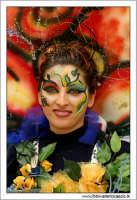 Agira. Carnevale di Agira. Edizione 2006 Carnevale Agirino. Ragazza in maschera!  - Agira (1371 clic)