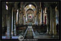 Palermo. Chiesa La Martorana. Interno, navata centrale. PALERMO Walter Lo Cascio