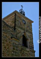 Troina: Chiesa di San Nicola a Scalforio: Interno:Angoli caratteristici del paese.  Particolare del campanile.   - Troina (3575 clic)