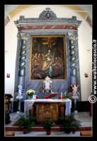 Troina: Chiesa di San Nicola A Scalforio: Interno: Altare seicentesco (barocco).  - Troina (3225 clic)