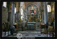 Palermo. Chiesa La Martorana. Interno, l'altare. PALERMO Walter Lo Cascio