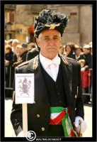 Caltanissetta. Real Maestranza a Caltanissetta. Mercoledi Santo a Caltanissetta. Il Capitano della Real MAestranza in processione.  - Caltanissetta (2785 clic)