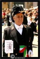 Caltanissetta. Real Maestranza a Caltanissetta. Mercoledi Santo a Caltanissetta. Il Capitano della Real Maestranza. Anno 2006.  - Caltanissetta (2926 clic)