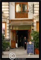 Palermo. Il Bar in piazza Bellini PALERMO Walter Lo Cascio