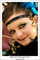 Agira. Carnevale di Agira. Edizione 2006. Ragazza in maschera. #2  - Agira (1382 clic)