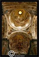 Palermo. Chiesa di Santa Caterina. Interno. Natava centrale. La cupola interna. PALERMO Walter Lo Ca