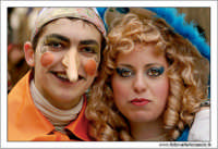 Agira. Carnevale di Agira. Edizione 2006 Carnevale Agirino. Razazzi in maschera. Pinocchio e la fatina turchina.  - Agira (4039 clic)