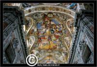 Palermo. Chiesa di Santa Caterina. Interno. Natava centrale. Affreshi nel soffitto. PALERMO Walter L