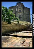 Troina: Particolare vista della Cattedrale da via Papa Urbano II.  - Troina (2309 clic)