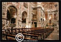 Palermo. Chiesa di Santa Caterina. Interno. Natava centrale.   PALERMO Walter Lo Cascio