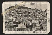 Agira. Panorama del paese di Agira. Da una foto moderna, ho voluto ricavare una vecchia foto, anzi, vecchissima. Post Produzione in photoshop.  - Agira (6322 clic)