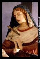 Troina: Chiesa del santissimo Sacramento: Interno: Statua della Madonna.  - Troina (3337 clic)