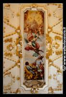 Troina: Chiesa del Santissimo Sacramento: Interno: Particolare di volta dipinta.  - Troina (3798 clic)