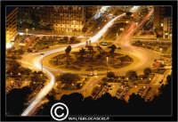 Palermo. Piazza Alcide De Gsperi, vista dal Monte Pellegrino con teleobiettivo 300mm PALERMO Walter