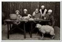 Agira. Agira, il presepe vivente di Agira. Edizione Natale 2008.- Foto Walter Lo Cascio www.walterlocascio.it  - Agira (3568 clic)