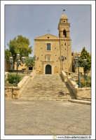 Delia: Chiesa e Convento del Carmine. Costruita nel 1602 dal Barone G. Lucchese Fondatore di Delia. Gli stucchi sono della scuola del Serpotta.  - Delia (4686 clic)
