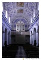 Santa Caterina Villarmosa: Chiesa Madre Immacolata concezione.Interno. Navata centrale. Vista verso la porta d'uscita.  - Santa caterina villarmosa (5263 clic)