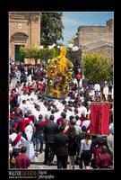 Mazzarino - Festa del SS. Crocifisso dell'Olmo. Signore dell'Olmo. Anno 2010. Foto Walter Lo Cascio. www.walterlocascio.it  - Mazzarino (4101 clic)
