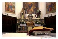 Santa Caterina Villarmosa: Chiesa Madre Immacolata concezione.Interno. Altare.  - Santa caterina villarmosa (3900 clic)