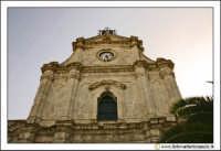 Santa Caterina Villarmosa: Chiesa Madre Immacolata concezione. Particolare del prospetto principale.  - Santa caterina villarmosa (2922 clic)