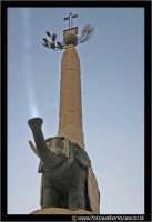 Catania: L'elefante, U LIOTRU, simbolo di Catania in Piazza Duomo.  - Catania (5622 clic)