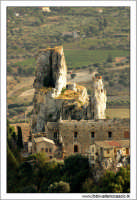 Caltanissetta. Castello di Pietrarossa. Vista Panoramica a volo d'uccello.  - Caltanissetta (19198 clic)