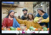 Caltanissetta. Settimana Santa a Caltanissetta. Anno 2006. Giovedi' Santo a Caltanissetta.  Processioni, gruppi sacri, maestranza, giovedi santo, Biangardi, vare, vara, Pasqua, Caltanissetta. L'ultima Cena.  - Caltanissetta (4611 clic)