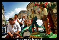 Vizzini: SAGRA DELLA RICOTTA E DEL FORMAGGIO. Edizione 2007.Carretto siciliano addobbato.  - Vizzini (1561 clic)
