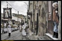 Villarosa: Il Venerdi' Santo a Villarosa. La Crocifissione. Photo Walter Lo Cascio. www.walterlocascio.it  - Villarosa (3570 clic)