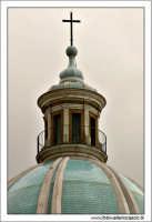 Caltanissetta. Cattedrale SantaMaria La Nova, Particolare della cupola.  - Caltanissetta (2603 clic)