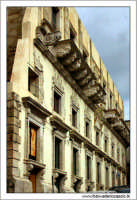 Caltanissetta. Palazzo moncada. Particolare 5  - Caltanissetta (2639 clic)