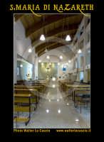San Cataldo (CL).  COMPLESSO PARROCCHIALE S.MARIA DI NAZARETH. Interno, navata principale. Photo Walter Lo Cascio www.walterlocascio.it  - San cataldo (5198 clic)