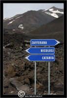 Nicolosi: Etna, Segnaletica.  - Nicolosi (2050 clic)