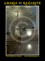 San Cataldo (CL).  COMPLESSO PARROCCHIALE S.MARIA DI NAZARETH. Interno, navata principale. Photo Walter Lo Cascio www.walterlocascio.it  - San cataldo (3991 clic)