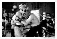 Agira, Giugno 2005. Incontro di Kick Boxing. Bianco e nero  - Agira (2647 clic)