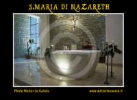 San Cataldo (CL).  COMPLESSO PARROCCHIALE S.MARIA DI NAZARETH. Interno, navata principale. Altare. Photo Walter Lo Cascio www.walterlocascio.it  - San cataldo (4028 clic)