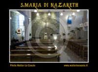 San Cataldo (CL).  COMPLESSO PARROCCHIALE S.MARIA DI NAZARETH. Interno, navata principale. Altare. Photo Walter Lo Cascio www.walterlocascio.it  - San cataldo (4964 clic)