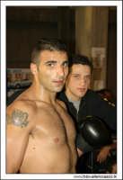 Agira, Giugno 2005. Incontro di Kick Boxing. Un atleta si prepara al combattimento. #3  - Agira (2360 clic)