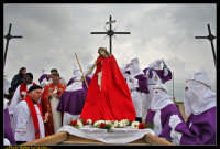 Villarosa: Il Venerdi' Santo a Villarosa. La Crocifissione. Photo Walter Lo Cascio. www.walterlocascio.it  - Villarosa (4494 clic)