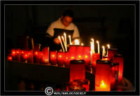 La Cattedrale di Caltanissetta. I Ceri e le candele.  - Caltanissetta (2903 clic)