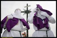 Villarosa: Il Venerdi' Santo a Villarosa. La Crocifissione. Photo Walter Lo Cascio. www.walterlocascio.it  - Villarosa (4307 clic)