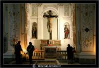 La Cattedrale di Caltanissetta. Accensione dei ceri. Navata Laterale.  - Caltanissetta (2893 clic)